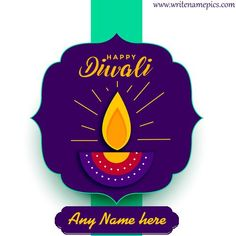 Happy Diwali wishes of 2020 card with name edit Happy Diwali Pictures, Happy Diwali Wishes Images, Diwali Wishes Quotes, Happy Diwali Wallpapers, Happy Diwali Quotes, Diwali Greetings With Name, Greetings Images, Birthday Greetings, Happy Birthday
