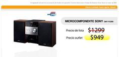 Microcomponente SONY CMT FX200   < PRECIO OUTLET $949 >