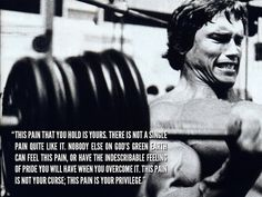Well said arny, well said.  This is for the ppl who lift bashfully,fearfully, timidly in fear of being judged and compared negatively to someone bigger. Been there done that