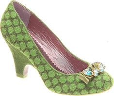 Love these shoes.  They are green AND have sparkles.