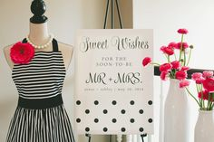 Adorable Baking Themed Bridal Shower - Love the idea of a cooking theme (I can't bake) but no games