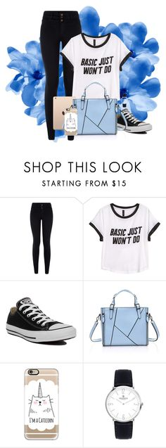 """""""Untitled #23"""" by aminebadalova ❤ liked on Polyvore featuring H&M, Converse and Casetify"""