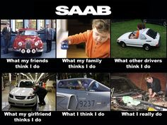Totally me, as I own a 2003 Saab 9-3 2.2 TiD myself!