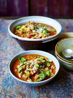 A classic minestrone soup recipe from Jamie Oliver is a healthy, seasonal dish that will warm the whole family during the cold winter months.