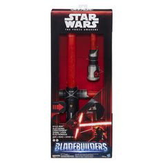 Star Wars Bladebuilders Kylo Ren Deluxe Electronic Lightsaber - $35.83