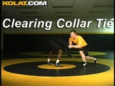 Clearing Collar Tie KOLAT.COM Wrestling Techniques Moves Instruction - YouTube Wrestling Workout, Catch Wrestling, College Wrestling, Wrestling Videos, Judo Throws, Sports Mom, Wwe Wrestlers, Krav Maga, Wakeboarding