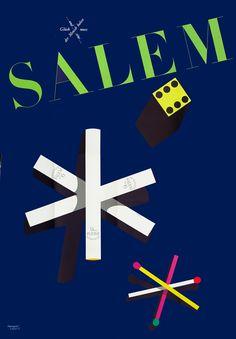 Leupin, Herbert poster: Salem (cigarette pinwheel)