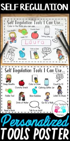 Help your students to learn about their emotions/feelings and which strategies they can use to stay calm and ready to learn, using this fun no prep activity! Students then create their own poster! Students write their name in the middle of the poster and Emotional Regulation, Self Regulation, Behaviour Management, Classroom Management, Social Work, Social Skills, Kindergarten, Social Emotional Learning, Stay Calm