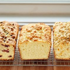 Buttermilk Quick Bread with 10 different variations