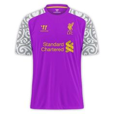 Liverpool football club 3rd kit choice 2012/13 #LFC #sports not 100% sure but comedy gold none the less