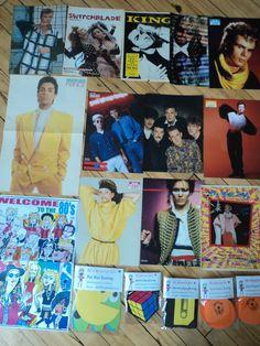 80's movie/music poster