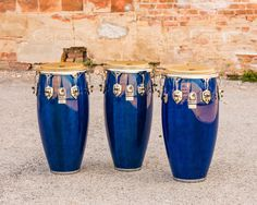Custom Deluxe Tumbadoras/Congas by Toca Percussion (Carlos Adames)