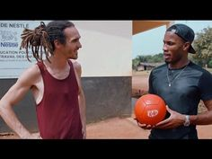 "Didier Drogba and Fun For Louis take a sustainable break - YouTube --Wonderfull ball ""Drogba"""