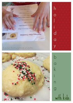holiday baking with