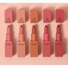 3 CONCEPT EYES Mood Recipe 2 Matte Lip Color Colors) at ! Quality products at remarkable prices. FREE Worldwide Shipping available! Lip Gloss Colors, Matte Lip Color, Matte Lips, Lip Colors, Lipstick Colors, Lipstick Shades, Stain Colors, Make Up Kits, Skin Makeup