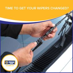 Time to get your wipers changed?  With the salty Cayman air wiper blades can deteriorate faster than usual.  Frequent replacement will help you to see the road ahead more clearly.  Don't forget the rear window wiper… we won't!   #Napa #kirkmotors #wipers #servicedepartment
