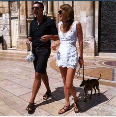 Anna Dello Russo & Stefano Gabbana