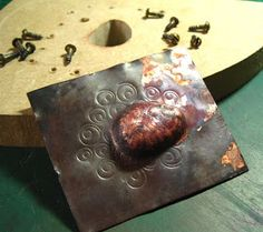Cinnamon Jewellery: Making Hollow Forms With Non-Conforming Dies