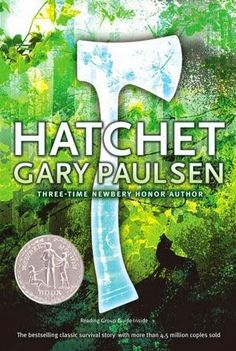 Hatchet by Gary Paulsen, Delicious Reads, Teen Books