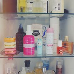 What's in our beauty cabinet this week... #urbanoutfitters