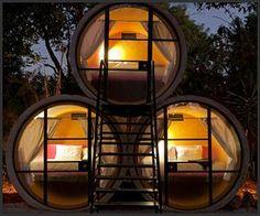 Ecco 7 incredibili creazioni realizzati con tubi di cemento! Bellissimi…