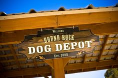 Photo: Christopher Rose  It's the Round Rock Dog Depot!