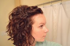 Curly without the crunchy... Also other great tips for people with naturally curly hair      @Kaley Stinnett