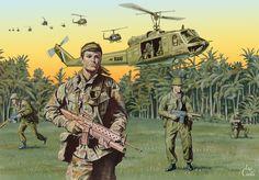 Vietnam War Art