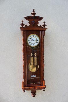 2 two wieght regulator clock fromVienna 1890-900