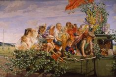 Arkady Plastov - Children on the walk