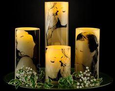 idei de cadouri - pozele celor dragi pe lumanarile Smart Candle