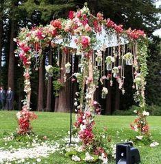51 Ideas Garden Wedding Ceremony Arch Hanging Flowers For 2019 Garden Wedding, Diy Wedding, Wedding Flowers, Dream Wedding, Trendy Wedding, Wedding Ideas, Spring Wedding, Wedding Inspiration, Wedding Colors