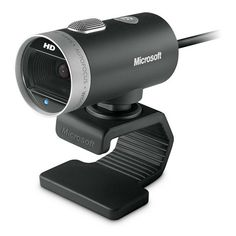 Microsoft LifeCam Cinema 720p HD Webcam - Skype You won't miss a thing with the Microsoft LifeCam Cinema 720p HD Webcam and its high-quality 720p HD widescreen video together with crystal clear audio.  The camera will automatically sharpen your image while TrueColor will adjust exposure for bright, vibrant footage.  For even sharper video, you can take advantage of the high-precision glass lens and ClearFrame Technology to improve the picture even in low light conditions.