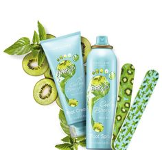 Oriflame Feet Up Cooling Breeze Footcare with mint & kiwi - Limited Edition spring 2015