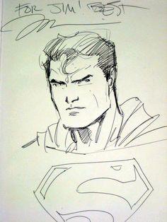 Superman by Jim Lee #dc #batman