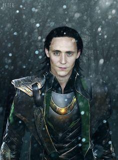 Loki... The evil sinister of the Avengers