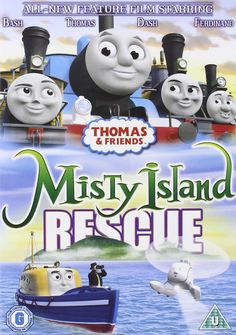 2000s Kids Shows, Thomas The Tank, Thomas And Friends, Feature Film, New Movies, Christmas Gifts, Island, Movie Posters, Engine