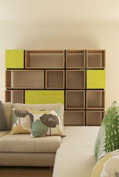 earl-pinto-custom-shelving-unit-bookshelves-custom-furniture-melbourne Smart Furniture, Modular Furniture, Plywood Furniture, Custom Furniture, Cabinet Furniture, Furniture Projects, Furniture Design, Retail Interior Design, Wood Interior Design