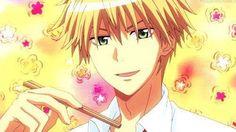 Animated gif about love in ♥ Kaichou wa maid-sama! Manga Love, I Love Anime, Chino Anime, Best Romantic Comedy Anime, Maid Sama Manga, Usui, Kaichou Wa Maid Sama, Bleach Anime, Shoujo