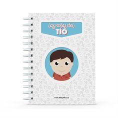 Cuaderno - Las notas del tío, encuentra este producto en nuestra tienda online y personalízalo con un nombre. Notebook, Socialism, Engineer, Notebooks, Report Cards, Store, Studio, Physical Therapist, Working Man