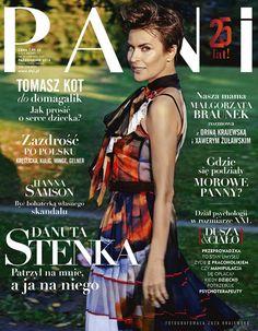 Najlepsze i najgorsze okładki października  + W liściach + Wyróżnienie wśród polskich czasopism – pociągająca Danuta Stenka na okładce miesięcznika PANI. Wysmakowane jesienne kolory i pęd w stronę uciekającego słońca.błyskiem w oku. Do tego ta kapitalna fryzura!  Więcej na Moda Cafe!