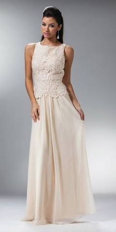 Sleeveless Long Black Mother of Bride Dress Lace