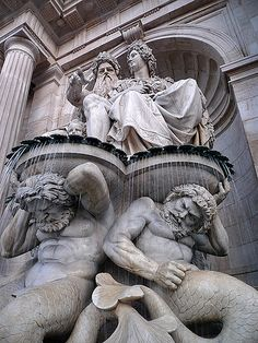 Neptune Fountain, Albertina Museum, Vienna | Flickr - Photo Sharing!  by pedro lastra