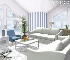 Design Home App, House Design, Outdoor Furniture Sets, Outdoor Decor, Decoration, Farmhouse Style, Diy Home Decor, Couch, Living Room