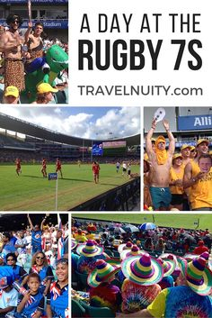 The fun, costumes and on-field action from a day at the Rugby Sydney 7s