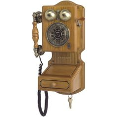 Crosley Radio Country Kitchen Wall Phone - Consumer Electronics