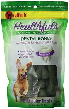 Healthfuls 8Pack Breath Freshening Dental Bones Regular * You can get additional details at the image link. Note: It's an affiliate link to Amazon.