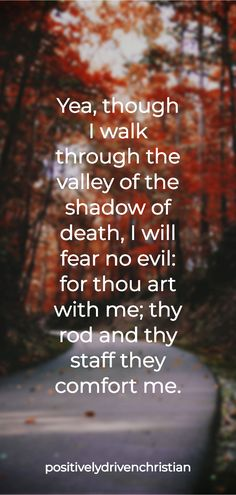Scripture of the day - Psalms 23:4 Positive Bible Verses, Motivational Bible Verses, Powerful Bible Verses, Encouraging Bible Verses, Bible Encouragement, Bible Quotes, Verses About Strength, Bible Verses About Faith, Scripture Of The Day