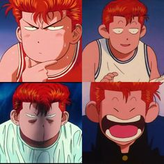 Other expresion from Sakuragi Hanamichi part 2 #slamdunk #anime #basket #japan #chibi #manga