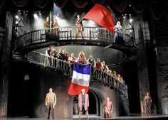 Paramount Theatre comes up big winner at 2015 Jeff Awards. Broadway Theatre, Musical Theatre, Travis Taylor, Oriental Theater, Stage Design, Set Design, Design Ideas, Jean Valjean, Paramount Theater